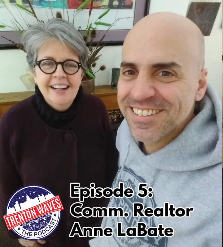 trenton waves, trenton 365, the podcast brothers, Anne Labate trenton nj, segal-labate, trenton commercial real estate, trenton real estate, coworking trenton nj, coworking space mercer county nj, base camp trenton